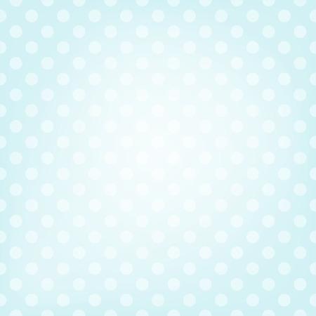 Polka dot blue background.  向量圖像