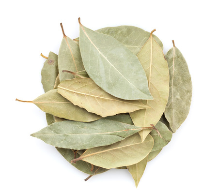 Aromatic bay leaves. Isolated on white background 版權商用圖片 - 29341109