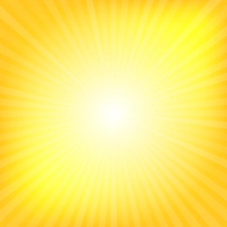 burst background: Yellow rays texture background illustration