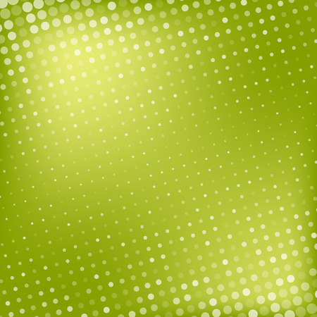 green wallpaper: Abstract dotted colorful gradient background texture Illustration