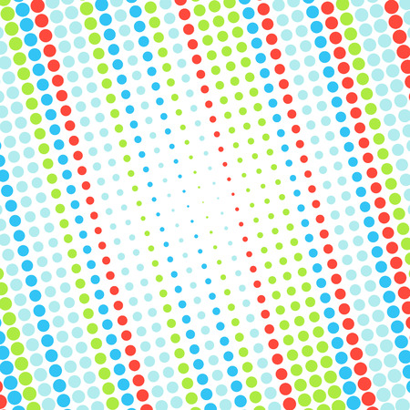 Abstract dotted colorful background texture Vector
