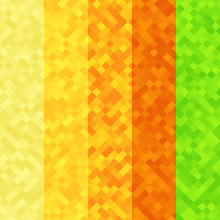 pixelated: Abstract pixel colorful background texture
