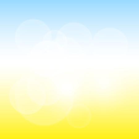 otoño: Soleado Fondo abstracto blur Vectores