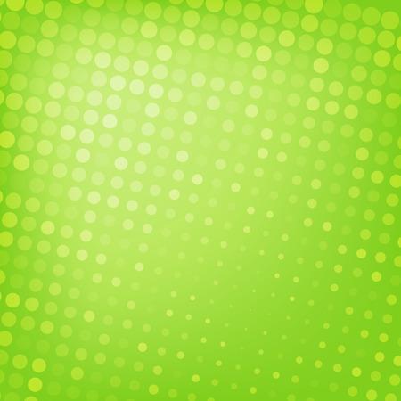 抽象的な点線緑背景テクスチャ