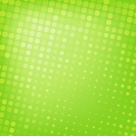 green banner: Abstract dotted green background texture