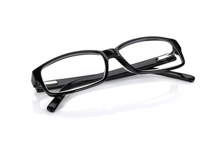 Occhiali. Isolato su sfondo bianco Archivio Fotografico - 32437313