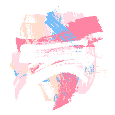 colorful paint: Colorful paint brush strokes background