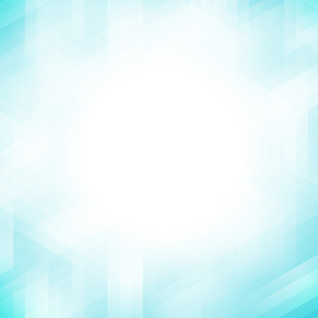 Abstract blue geometric pixel pattern background with copy space Imagens