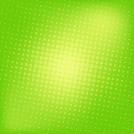 green background: Abstract dotted colorful gradient background texture Illustration