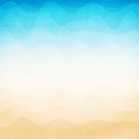 Abstract colorful gradient wave background Stock Photo