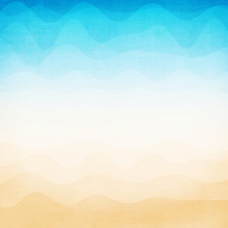 Abstracte kleurrijke gradient golf achtergrond Stockfoto