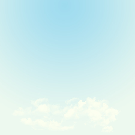 blue toned: Blue sky and clouds abstract background illustration with copy space