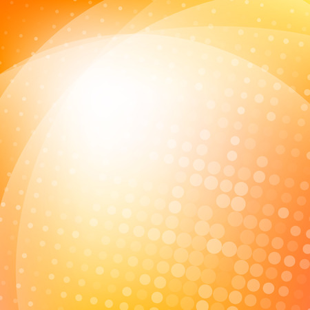 Colorful orange light abstract background