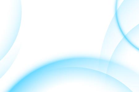 lineas decorativas: La luz azul degradado resumen de antecedentes Vectores