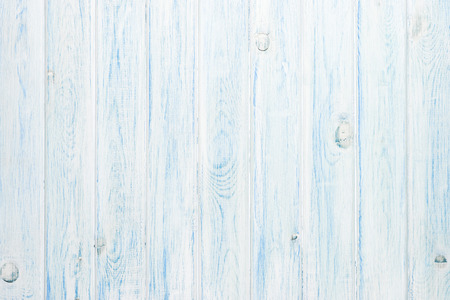 White and blue wooden plank texture  Stock Photo