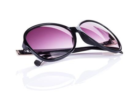Sunglasses. Isolated on white background photo