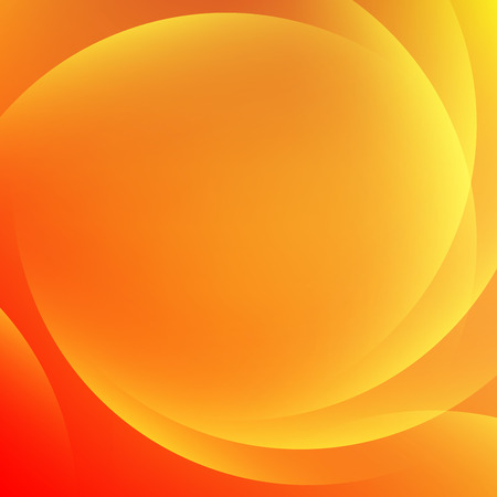 Orange light gradient abstract background