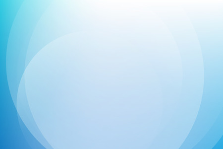 Blue light gradient abstract background