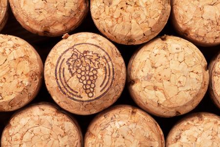 champagne cork: Champagne wine corks texture background