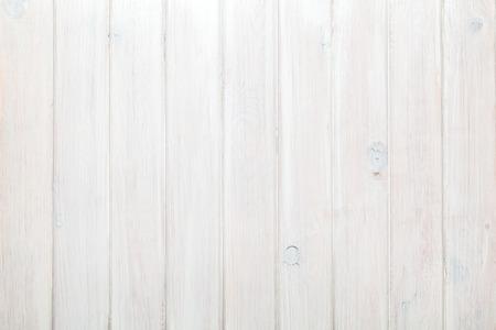 drewno: Kraj białe pionowe drewna teksturę tła