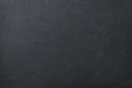 Black leather texture background 免版税图像