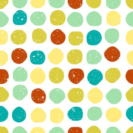 patron de circulos: Seamless patr�n de c�rculos de colores de fondo
