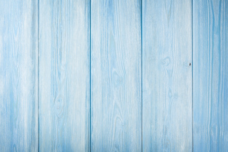 wooden planks: Country blue wooden table background texture