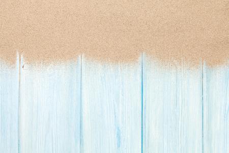 木の床に海砂。コピー スペース平面図