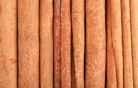 wood stick: Cinnamon closeup food texture background
