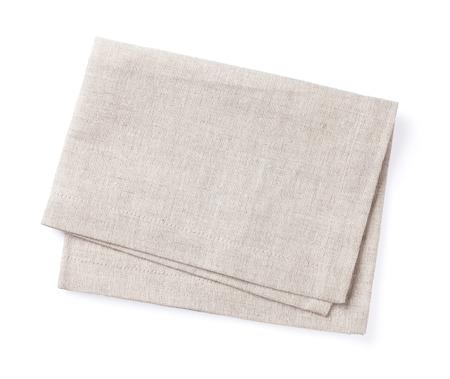 tela algodon: Toalla de cocina. Aislado en el fondo blanco