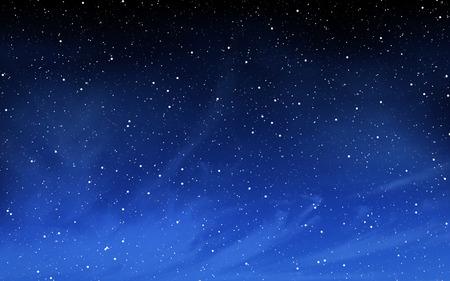 cielo de la noche profunda con muchas estrellas de fondo