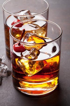 Manhattan-cocktail met whisky