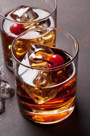 マンハッタン カクテル ウイスキー