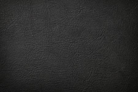 Black leather texture background Foto de archivo