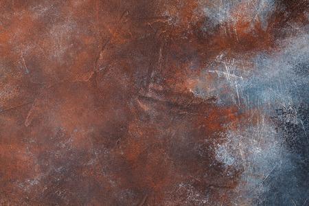 古い錆びた金属のテクスチャの背景