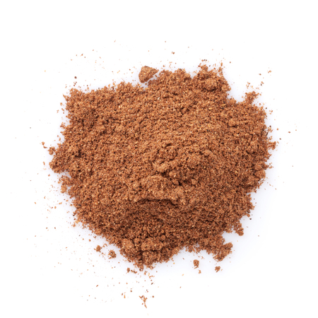 Five spice powder. Isolated on white background