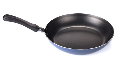 Frying pan. Isolated on white background Banco de Imagens - 108506685