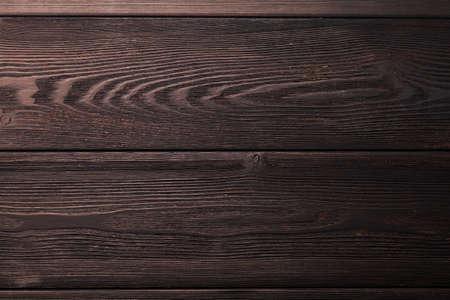 Dark wooden texture. Top view flat lay