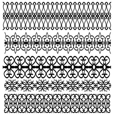trim: Black ornamental trim collection