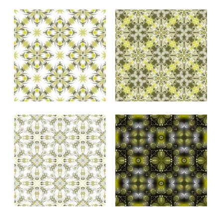 Green Seamless Tiling Textures