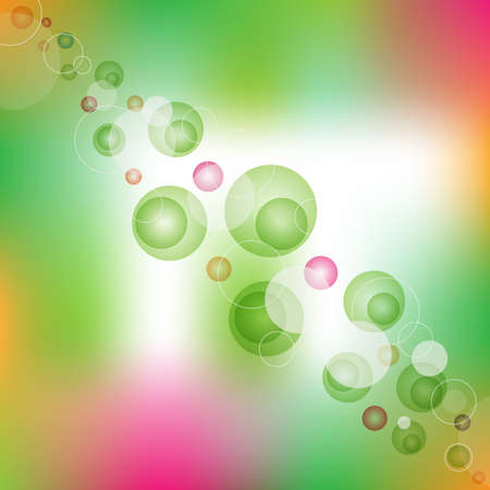 circles: Colorful background with circles Illustration