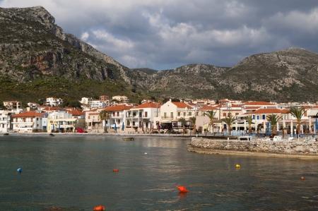 peloponnesus: Coast near Monemvasia village in Greece