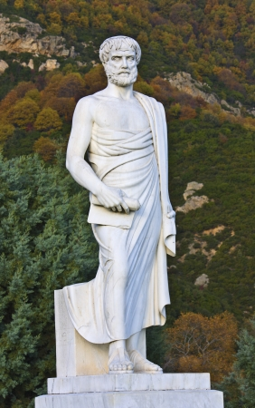 ancient philosophy: Aristotle statue at Stageira of Greece