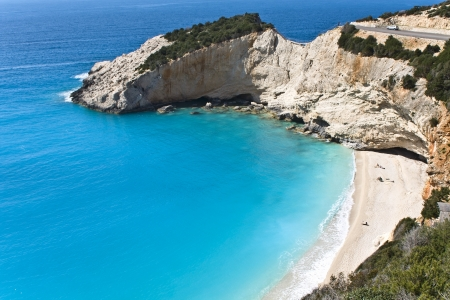 ionio: Porto Katsiki beach at Lefkada island, Greece