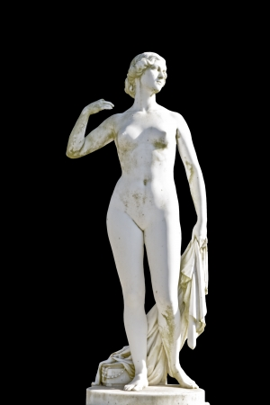 naked statue: Ancient classic Greek statue of Aphrodite Stock Photo