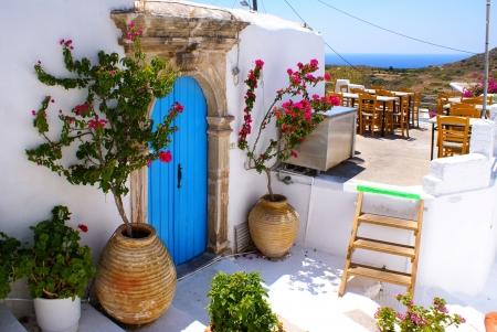 ionio: Greek traditional house located at Kithira island