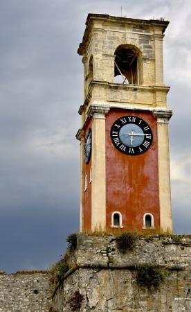 kerkyra: Campanile at Corfu island in Greece