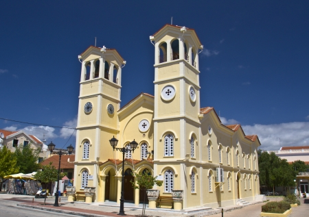 kefallinia: Metropolitan church at Kefalonia, Greece Stock Photo