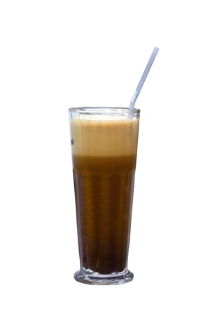 Greek cold coffee called  Frappe