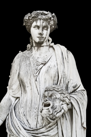 medusa: Statue showing a Greek mythical muse  Stock Photo